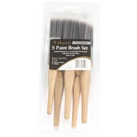Harris  Platinum Paint Brush Set - 5 Piece