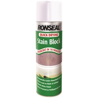 Ronseal  Quick Drying Stain Block Spray Paint - 400ml
