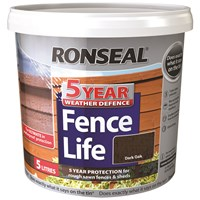 Ronseal  5 Year Weather Defence Fencelife - 5 Litre
