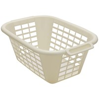 Addis  Rectangular Laundry Basket Linen - 40 Litre
