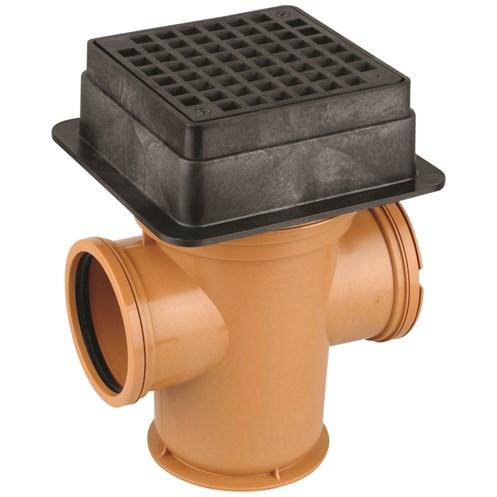 Wavin Double Socket Yard Gully - 110mm | Drainage Fittings