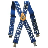 Faithfull  Heavy Duty Braces 50mm Wide - Blue
