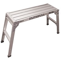 Faithfull  Fold Away Aluminium Step Up