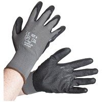 Bodyworks  Foam Flex Gloves - Grey/Black