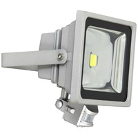 XQLITE  SMD LED Floodlight with Motion Sensor - 30W